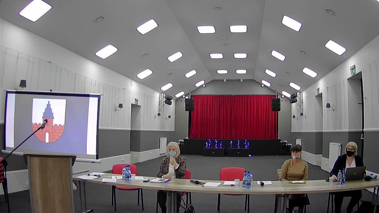XX Sesja Rady Miejskiej w Raciążu